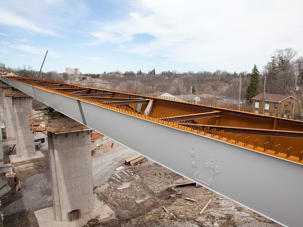 how to build a creek bridge