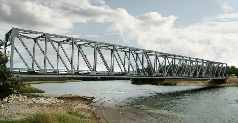canam bridges steel standard truss bridges quick and easy construction