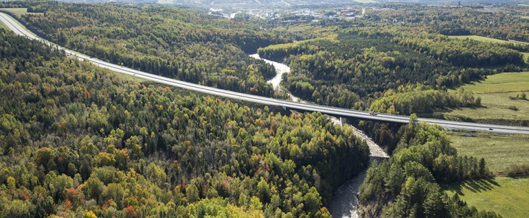 Athabasca River Bridge