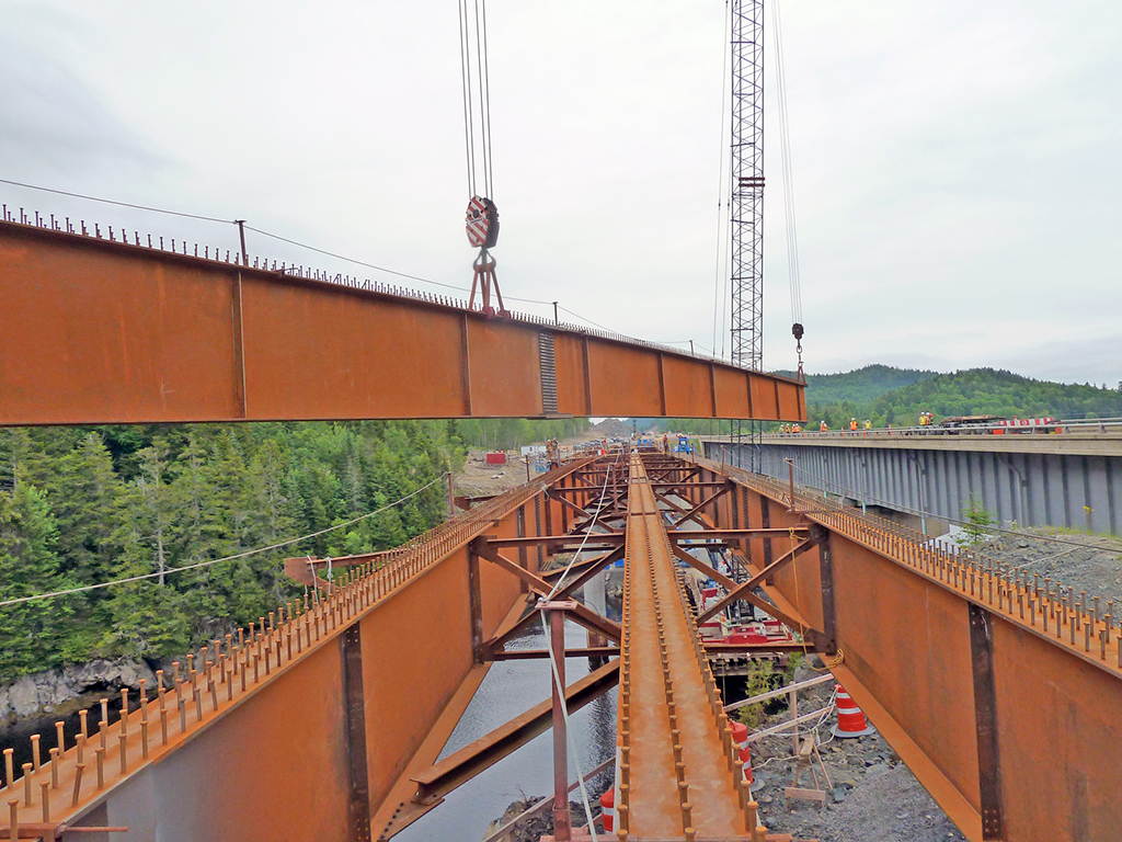 Structal-Bridges Completes Deliveries for the Route 1 Gateway Project in New Brunswick