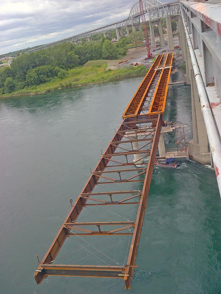 North Channel Bridge: An Innovative Girder Erection Method Signed Structal-Bridges