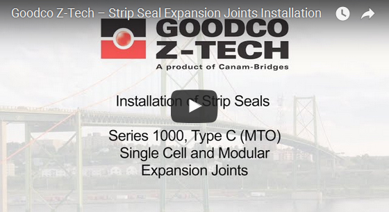 Expansion Joints: Strip Seal Installation