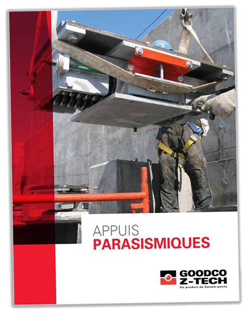Version française de la brochure Appuis parasismiques
