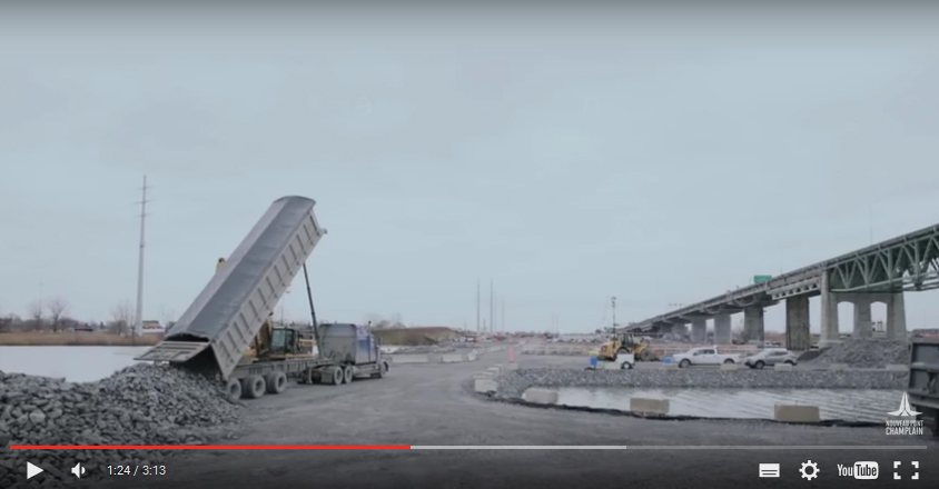 Interesting video on jetties of the new Champlain bridge