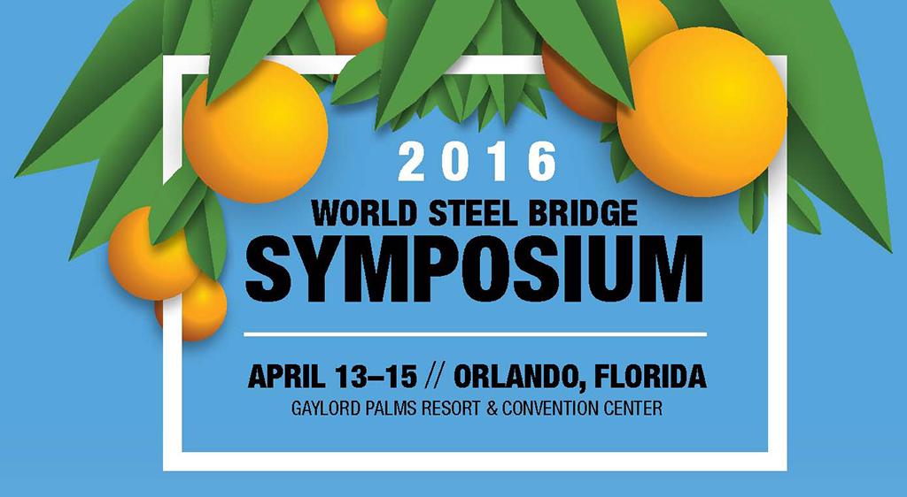 Canam-Bridges at the World Steel Bridge Symposium