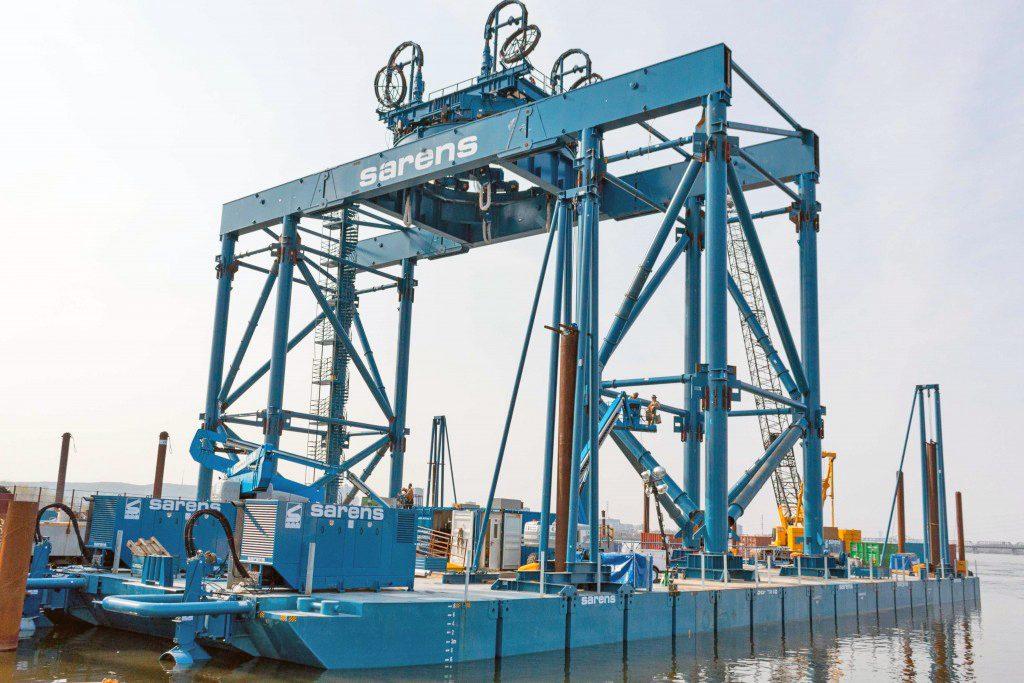 Un catamaran industriel pour construire le nouveau pont Champlain