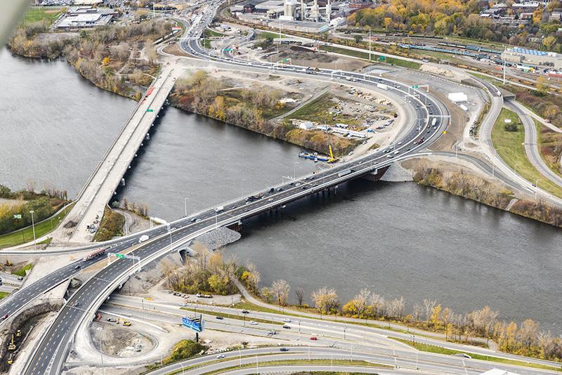 Étude de cas : pont de contournement de L'Île-des-Sœurs