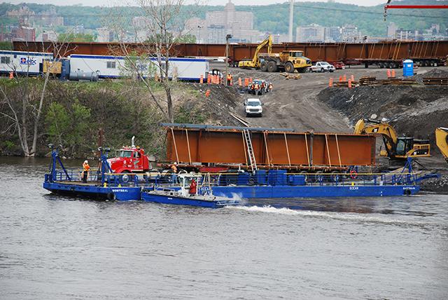 Transport-barges
