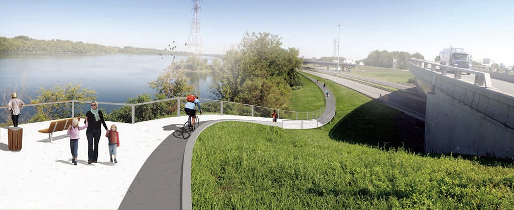 A Bicycle Path Project for Canam-Bridges