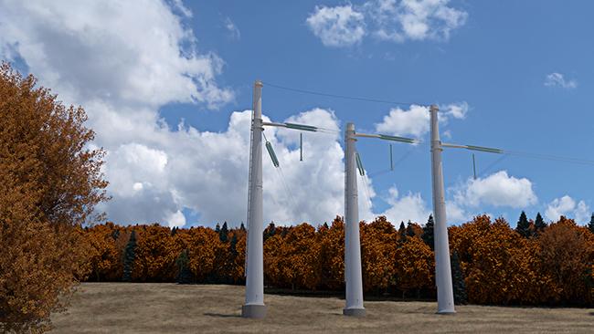 Groupe Canam fournira des pylônes tubulaires de transmission de lignes électriques pour Hydro-Québec