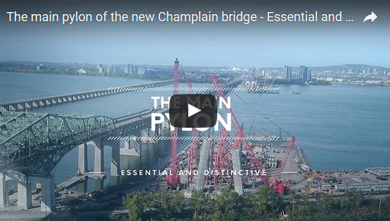 Informative Capsules on the Construction of the New Champlain Bridge