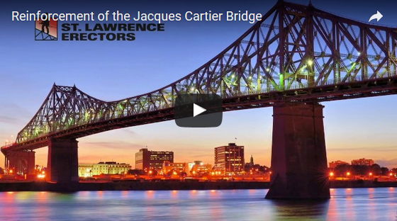 Unique Challenges for Jacques Cartier Bridge Major Reinforcement Work