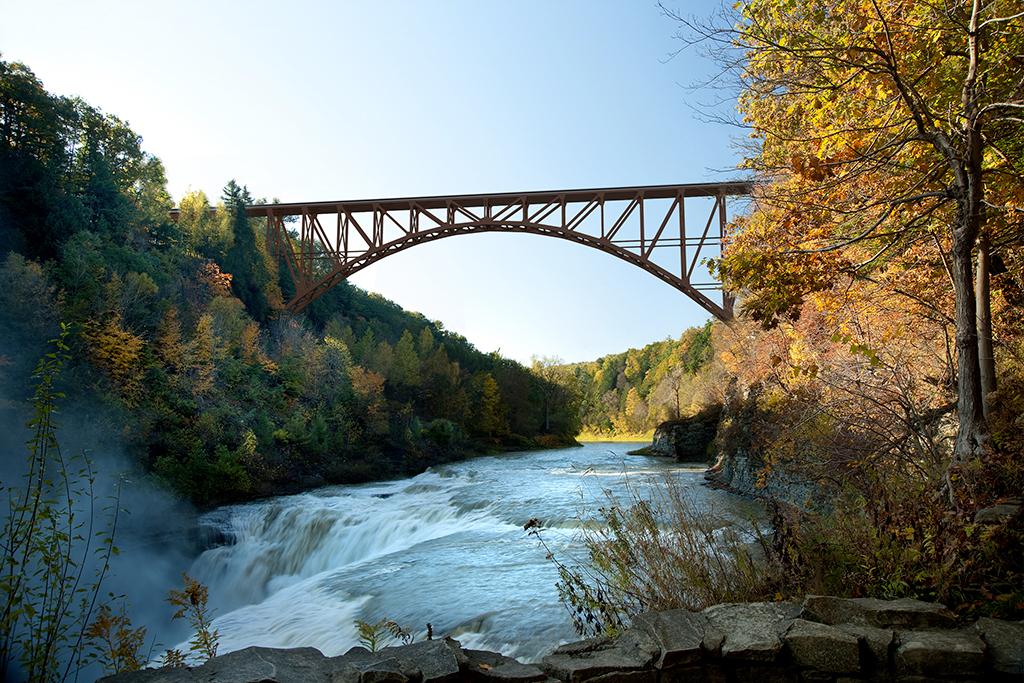 Première pièce livrée pour le pont de Portageville