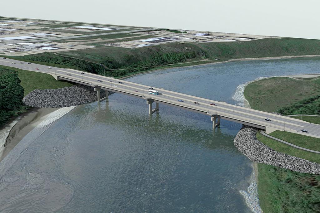 Une livraison rapide pour un pont en Saskatchewan