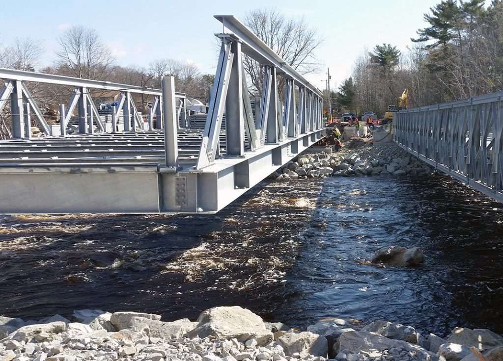 Shelburne Bridge - Canam-Bridges