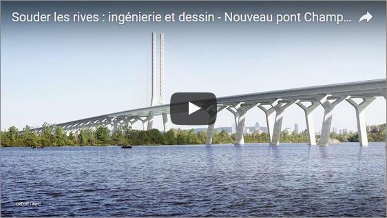 Découvrez les défis d'ingénierie et de dessin pour la fabrication des composants du nouveau pont Champlain