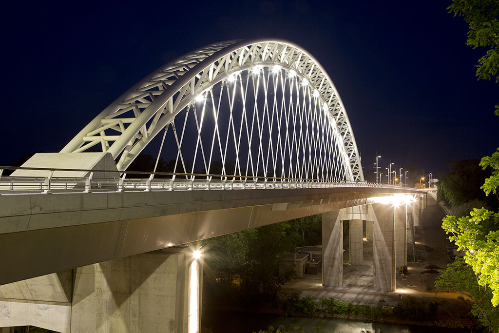 The Burgoyne Bridge Wins an Award of Excellence in Health and Safety