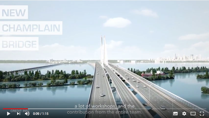 New Champlain Bridge: 601 Box Girders Fabricated with the Lean Method