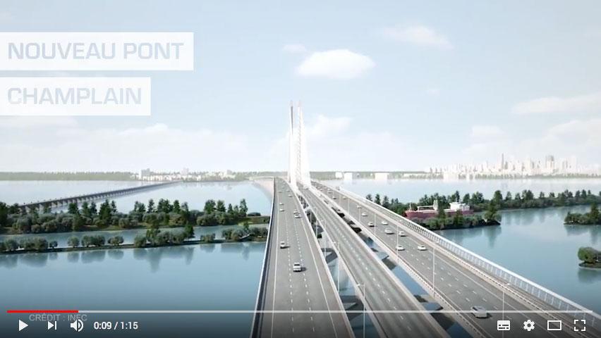 Nouveau pont Champlain : 601 poutres caissons fabriquées selon la méthode <i>Lean</i>