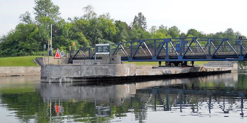 Troisième projet de pont tournant en Ontario