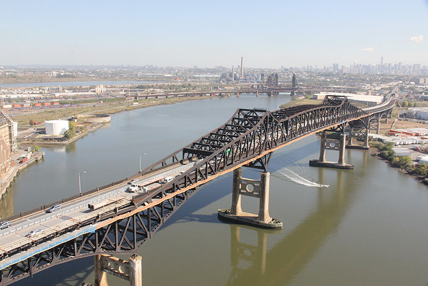 Second mandat de réfection du pont Pulaski Skyway pour Canam-ponts