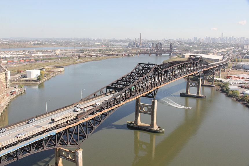 Second mandat de réfection du pont Pulaski Skyway pour Canam-ponts