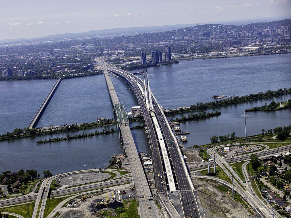 Le pont Samuel-De Champlain à l'émission <i>Découverte</i>