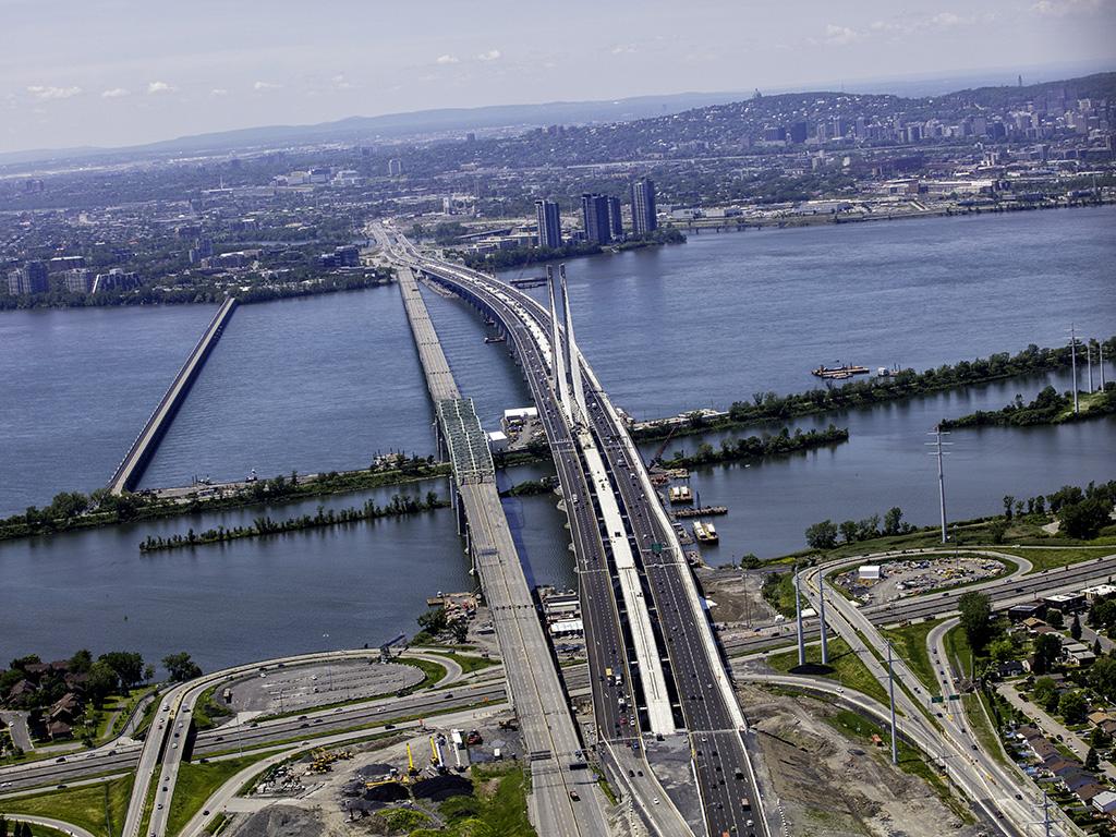 Le pont Samuel-De Champlain à l'émission <i></noscript>Découverte</i>